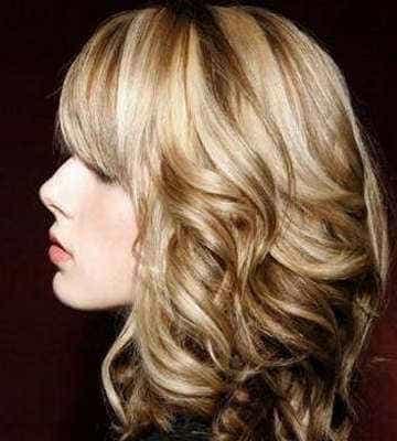 на осветленную базу волос