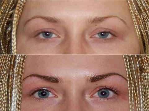 Перманентный макияж глаз и бровей