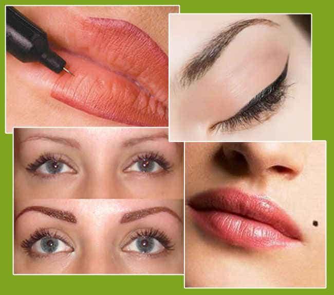 перманентный макияж может сделать вас яркой без макияжа