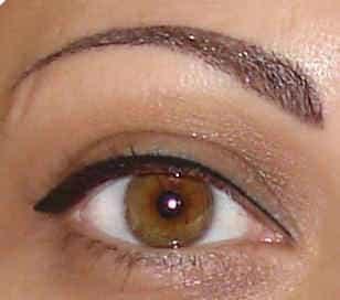 перманентный макияж - стрелка