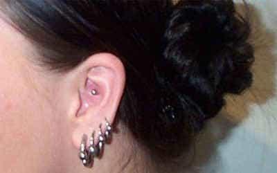 прокалывание ушей