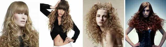 Частичная завивка волос 2016