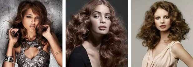 Естественные цвета волос