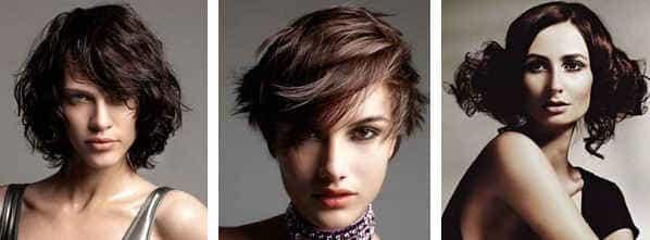 Коричневые волосы