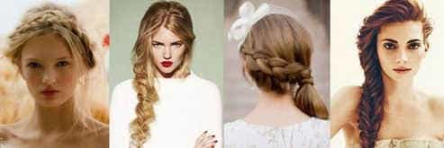 Модная французская коса