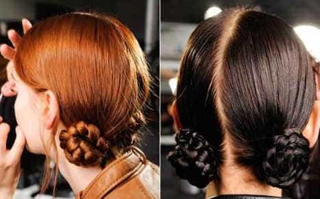 Как сделать жгут из волос в домашних условиях