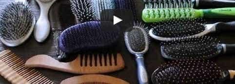 Виды расчесок для волос