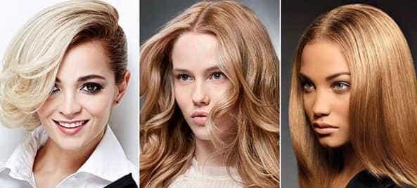 Модные оттенки волос 2017 для блондинок
