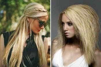 Гофрированный волос 2017
