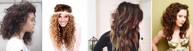 Стрижка на длинном вьющемся волосе