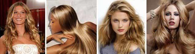 Брондирование русых волос в светлых оттенках