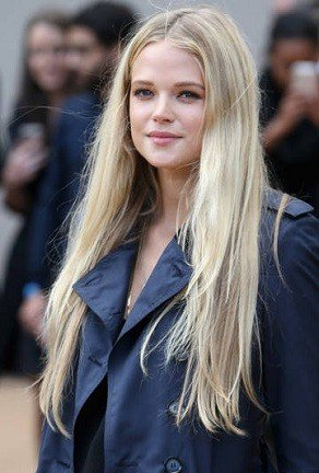 Модный бежевый цвет волос