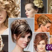 Прически на выпускной для средних волос (31 фото)
