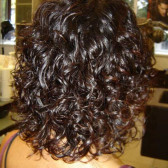 биозавивка коротких волос
