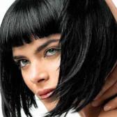 стрижки на короткие волосы с челкой- боб каре 3