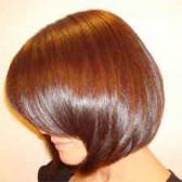 здоровый шелковый волос
