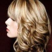 Колорирование светлых волос (фото).