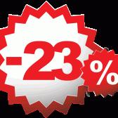 Скидка 23% на ВСЁ для наших мужчин !